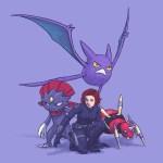 Avengers Pokemon – Black Widow