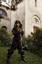 Bryan's son as Robin Hood