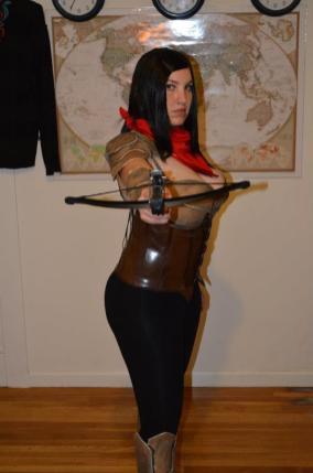 Tammy R. as a Demon Hunter