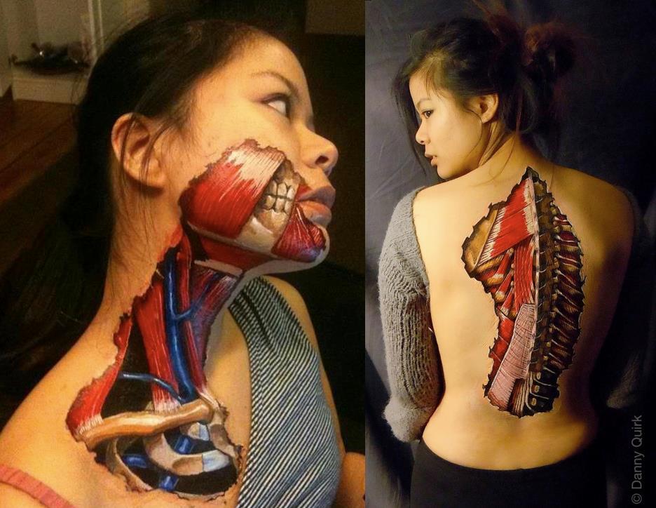 Danny Quirk Body Art1