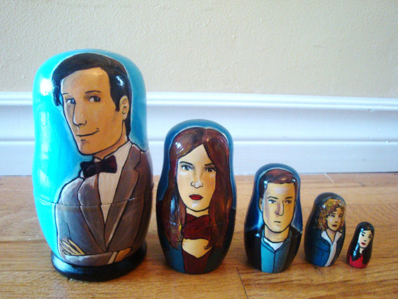 Rachel Anderson Nesting Dolls – Doctor Who (Eleventh)