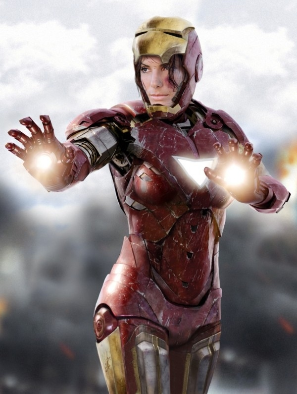 Iron Woman by Crotale on DeviantArt