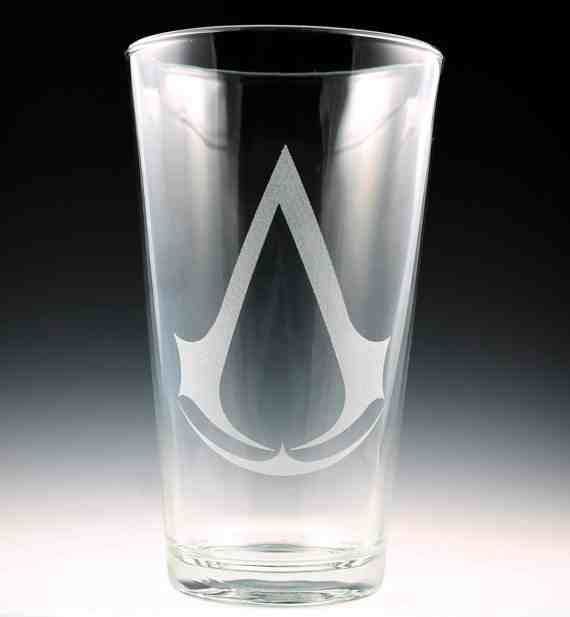 Assassin's Creed Pint Glass
