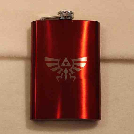Legend of Zelda Hylian Crest Flask