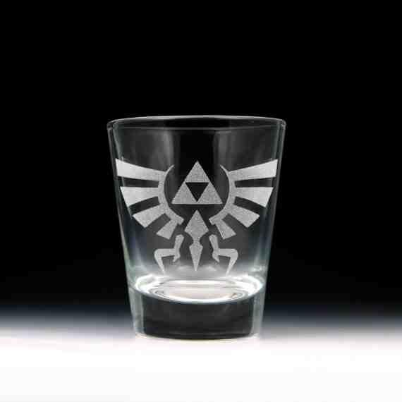 Legend of Zelda Hylian Crest Shot Glass