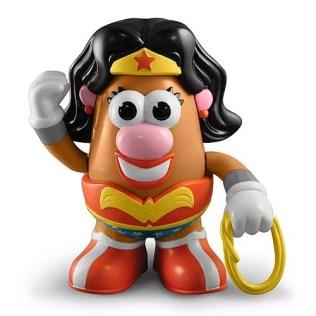 Potato Wonder Woman