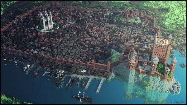 minecraft kings landing 1