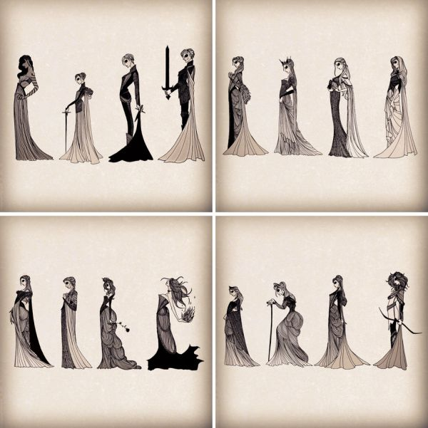 """The Ladies of """"A Song of Ice and Fire."""""""