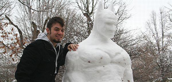 snowman batman artist 1