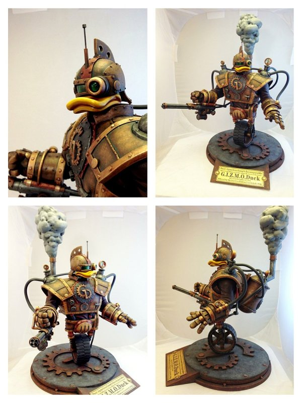 Steampunk GizmoDuck - Click Picture to Enlarge