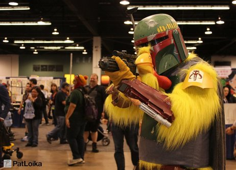 Boba Chicken - Picture by Pat Loika - WonderCon 2013