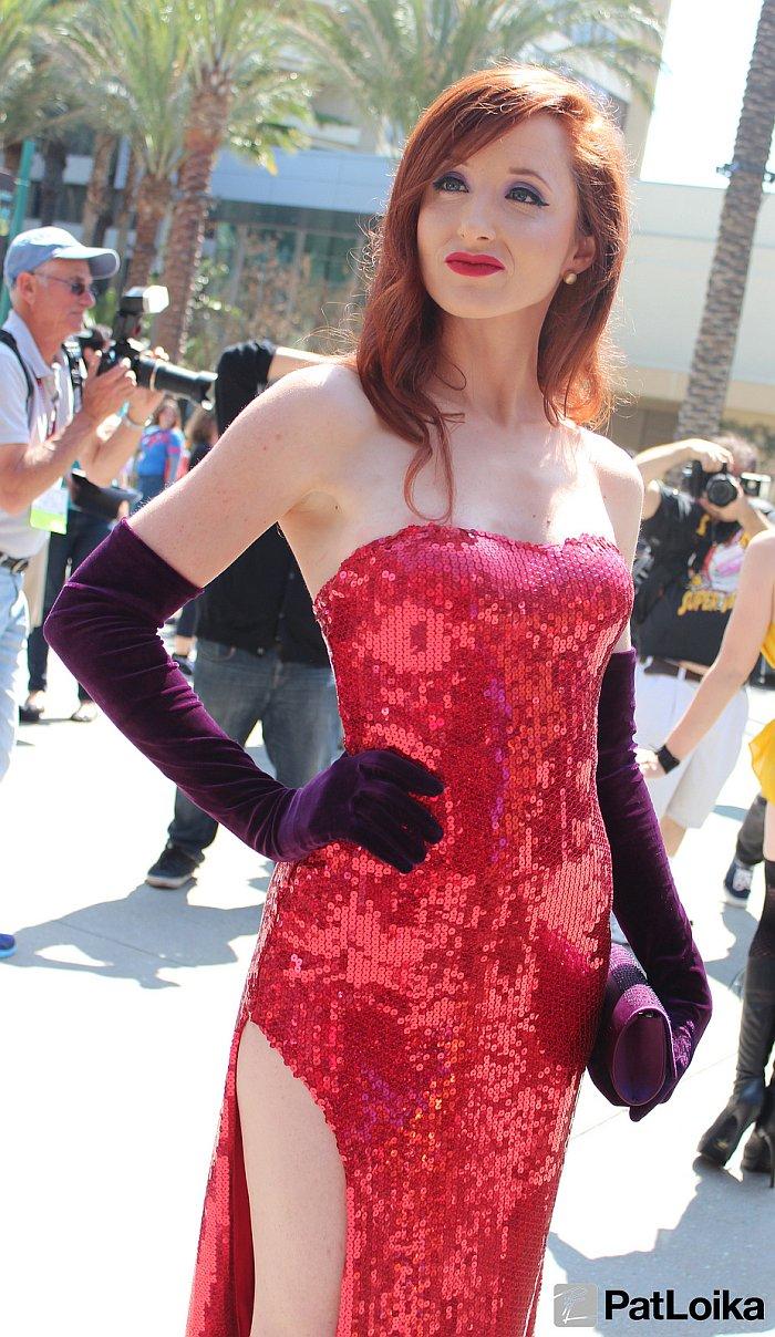 Jessica Rabbit - Picture by Pat Loika - WonderCon 2013
