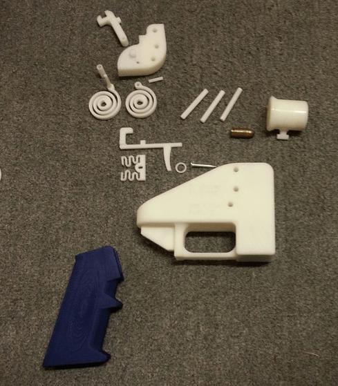 Government fires back in 3D printer gun dispute