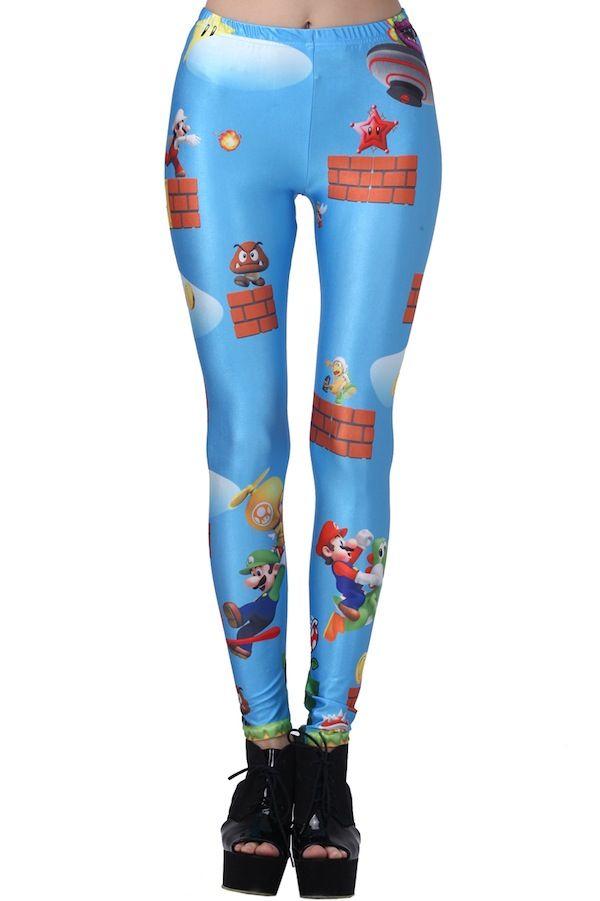 mario leggings