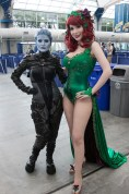 Asari Cosplayer and Poison Ivy - San Diego Comic-Con (SDCC) 2013