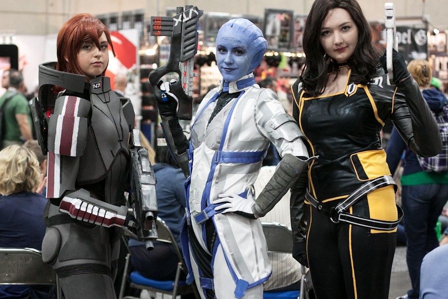 Mass Effect Cosplayers - San Diego Comic-Con (SDCC) 2013 (Day 3)