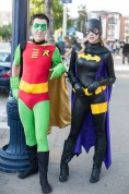 Oldschool Robin and Batman (Stephanie Brown) - San Diego Comic-Con (SDCC) 2013 (Day 1)