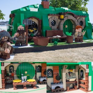 Giant Lego Hobbit House - San Diego Comic-Con (SDCC) 2013