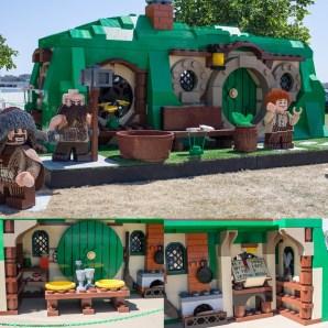 Giant Lego Hobbit House - San Diego Comic-Con (SDCC) 2013