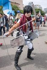 Mikasa Ackerman (Attack on Titan) - San Diego Comic-Con (SDCC) 2013 (Day 3)