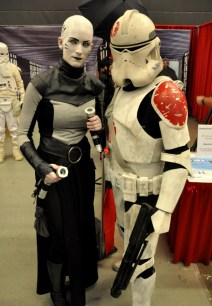 Sith Lord and Clone Trooper - Montreal Comic Con 2013 - Picture by Geeks are Sexy