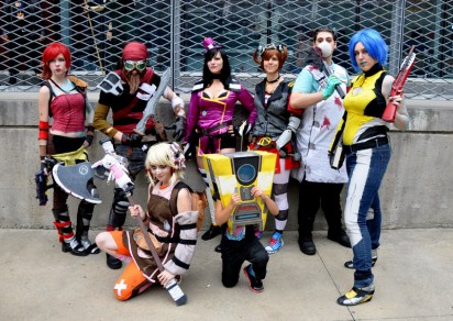 The Sparkling Potatoes Cosplay Group (Borderlands Photoshoot) - Montreal Comic Con 2013 - Picture by Geeks are Sexy