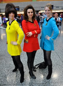Star Trek Ladies - Montreal Comic Con 2013 - Picture by Geeks are Sexy