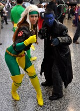 Rogue and Nightcrawler - Montreal Comic Con 2013 - Picture by Geeks are Sexy