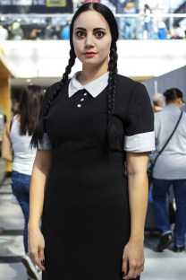Wednesday Addams - New York Comic Con (NYCC) 2013 - Geeks are Sexy