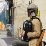 Boba Fett the Accordionist - New York Comic Con (NYCC) 2013 - Geeks are Sexy