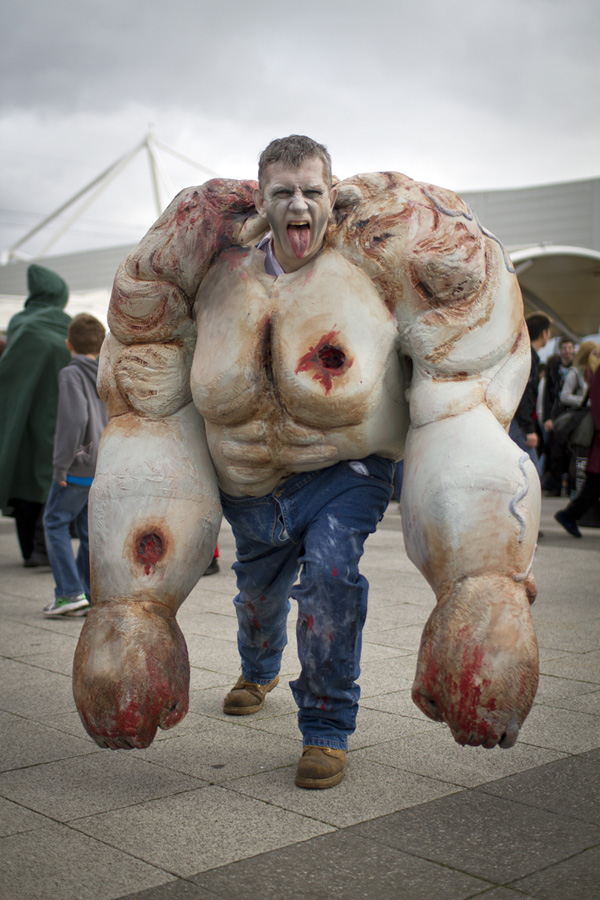 The TANK (Left 4 Dead) - MCM London Comic Con 2013
