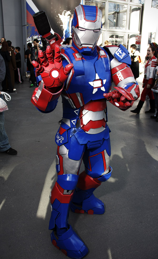 Iron Patriot - New York Comic Con (NYCC) 2013 - Geeks are Sexy
