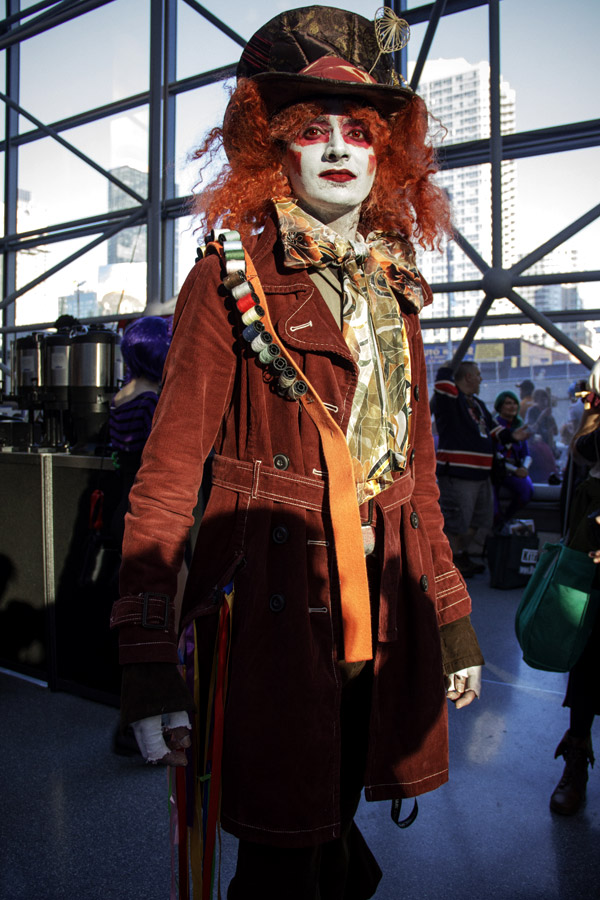 Mad Hatter – New York Comic Con (NYCC) 2013 - Geeks are Sexy