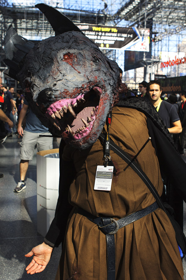 Big Bad Wolf – New York Comic Con (NYCC) 2013 - Geeks are Sexy