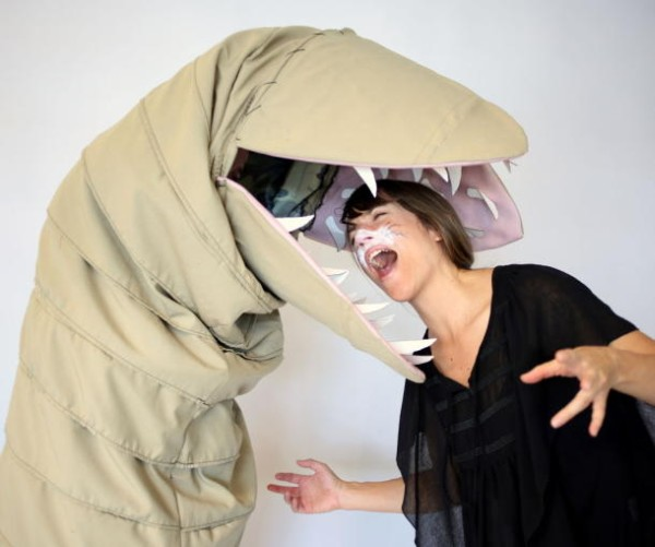 DIY Dune sandworm costume 2