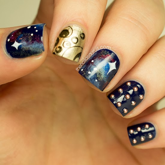 Lovely Doctor Who-Themed Nail Art [Picture]