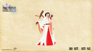Snow White - White Mage - Artwork: Geryes