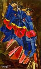 Superhero Descending Staircase - Rjwh67220