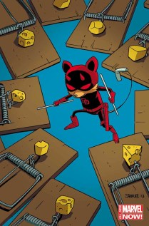 Daredevil - Artwork by Chris Samnee