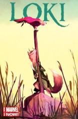 Loki Agent of Asgard - Artwork by Mike Del Mundo