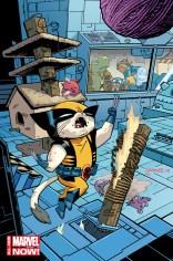 Savage Wolverine - Artwork by Chris Samnee