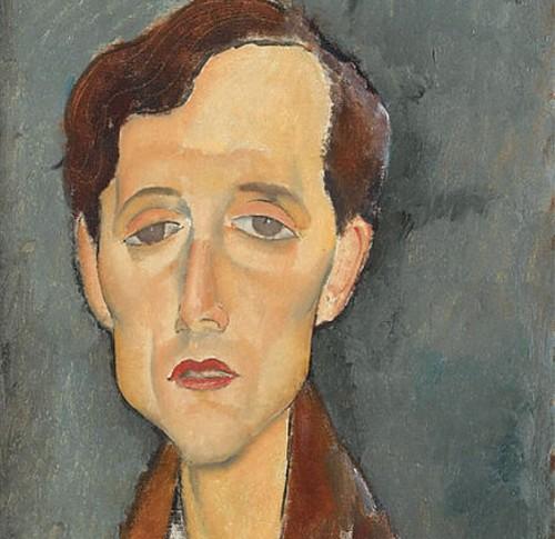 "Modigliani, ""Franz Hellens"""