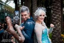 Jack Frost and Elsa - Wondercon 2014 - Photo by Davan Srey