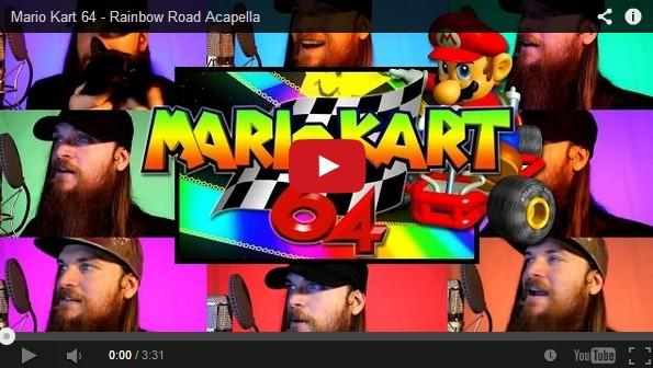 Rainbow Road Theme Mario Kart 64 Done Multi Track Acapella Video