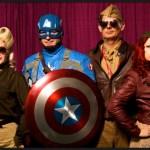 Captain America and Friends - SDCC 2014 - Photo: Howie Muzika