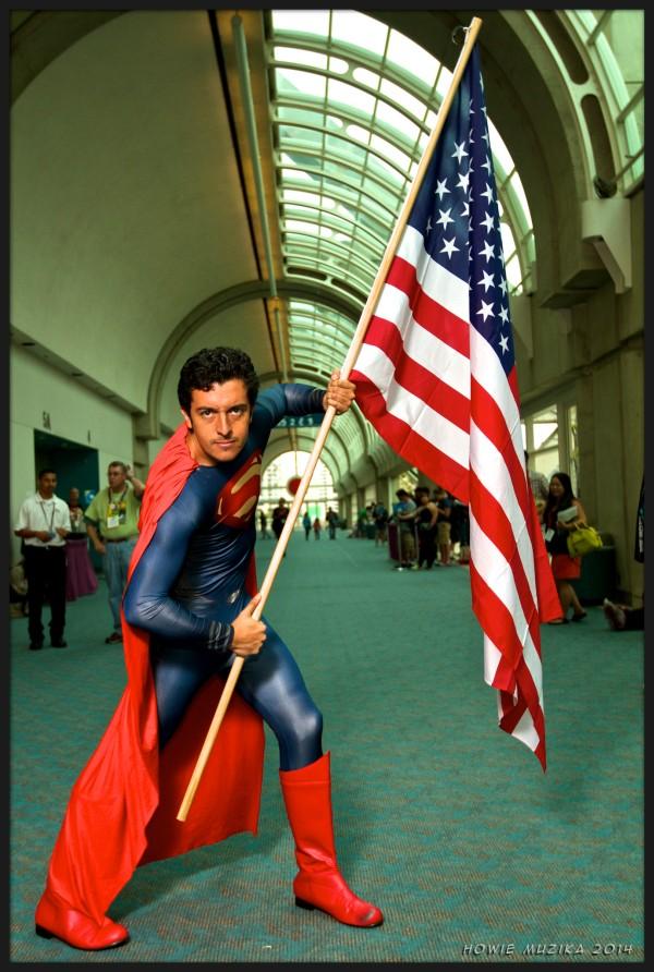 Superman - SDCC 2014 - Photo: Howie Muzika