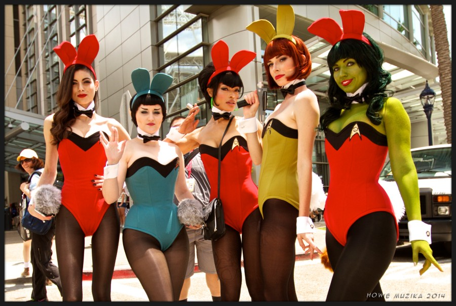 Star Trek Bunnies - SDCC 2014 - Photo: Howie Muzika