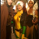 Gambit, Rogue, Storm - SDCC 2014 - Photo: Howie Muzika