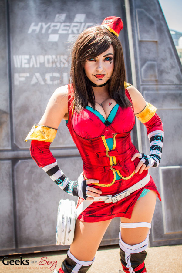 Mad Moxxie (Jessica Nigri) - SDCC 2014 - Geeks are Sexy