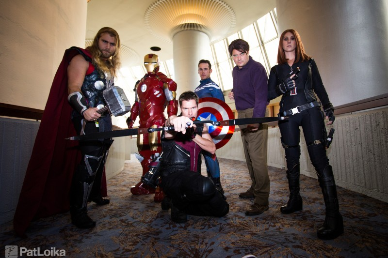 The Avengers (DragonCon 2014) Photography: Pat Loika